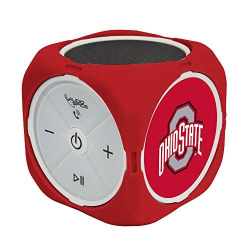 NCAA Ohio State Buckeyes MX-300 Cubio Bluetooth Speaker, Black, One Size from AudioSpice