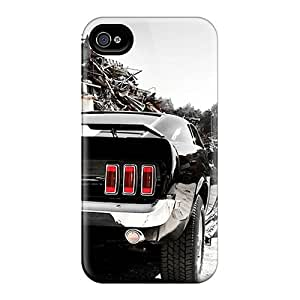 High Quality Hard Phone Case For Iphone 6 (ihS6852QPVJ) Customized Lifelike Ford Mustang Series