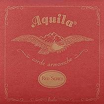 Aquila 89U RED BARI Uke Low-D Tuning DGBE (wound D & G-string)