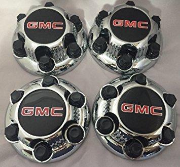 Gosweet 4X Brand NEW Set of 4 Pieces Chrome TRUCK VAN Wheel Caps For GMC Sierra Yukon Savana 6 Lug 1500 Center Caps 16