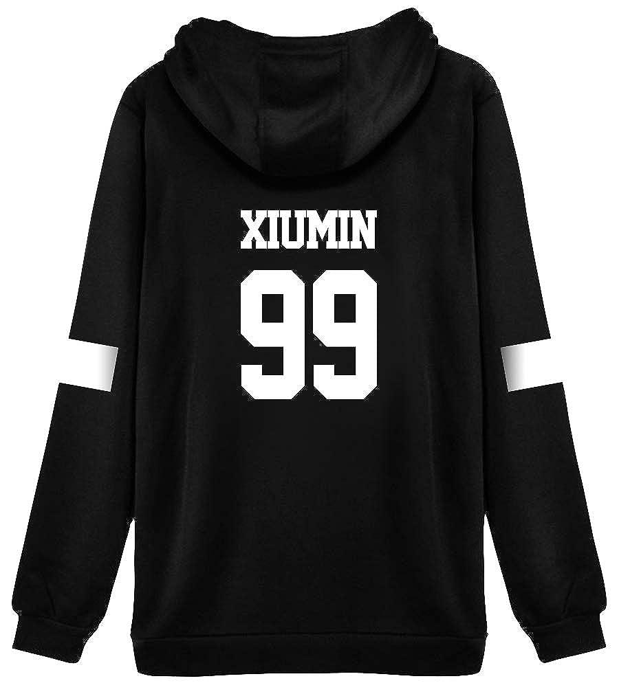 HAIZIVS K-Star Unisex Cap Hoodie Sweatershirt Fashion Hoodie Fans Hoodie Wear Idol Style