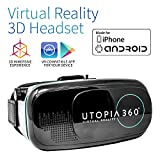 Utopia 360° VR Headset | 3D Virtual Reality Headset for VR...