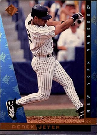 Amazoncom 1997 Sp Baseball Card 125 Derek Jeter Mint
