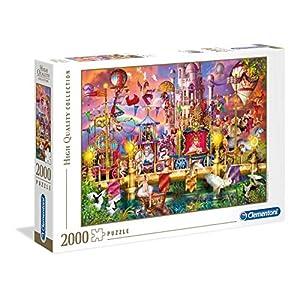 Clementoni Collection Puzzle The Circus 2000 Pezzi Multicolore 32562