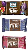 Nature's Bakery Whole Wheat 12 Fig Bar, 12 Blueberry, 12 Raspberry, Vegan + Non-GMO, Variety Pack (36 Count)