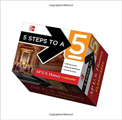 5 Steps to a 5 AP U.S. History Flashcards (5 Steps to a 5 on the Advanced Placement Examinations Series)