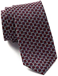 Square Silk Tie - Red