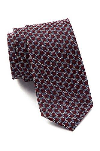 Ben Sherman Square Silk Tie - Red