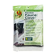 Duck Brand 280462 Insulated Soft Flexible Faucet Cover for Freeze Protection, 7.5 by 8.75-Inch Insulated