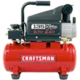Craftsman 3 Gallon Oil Lube 135psi Portable Air Compressor with 3 Piece Kit.