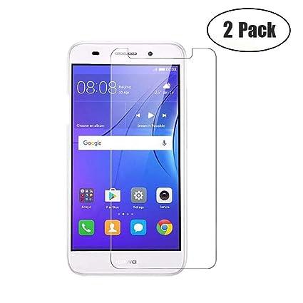 Amazon.com: JayTong - Protector de pantalla para Huawei Y3 ...