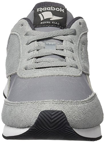 Grey Reebok white Skull Grey Grey Femme Gris Classic black noir Basses Baskets Royal flint ash Jogger 2 TfqrT6w