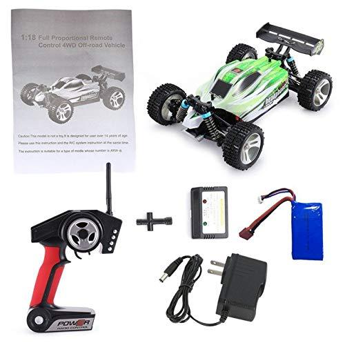 XuBa 1/18 4WD Off Road RC Car 70km/h 2.4G Remote Control RC Speedcar Racing High Speed Car Shockproof Buggy RC Car WLtoys A959-B -  CF_FQ1TO_H6NAYM8Z-US-1115-YWQ