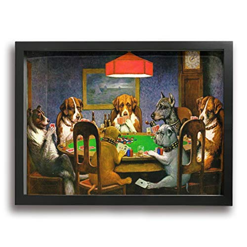 Poker Play Dog (Yanghl 12
