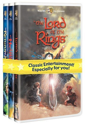 J.R.R. Tolkien Giftset (The Hobbit/The Lord of the Rings/The Return of the King) [VHS] (Rings Lord The Of Vhs Trilogy)