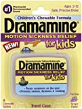 Dramamine for Kids Chewable Tablets, Grape Flavor 8 ea (Pack of 5)