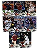 2012,2013,2014,2015,2016,2017 Topps Atlanta Braves Baseball Card Team Sets (Complete Series 1 & 2 From All Six Years ) inc. Freddie Freeman 100+ cards in an acrylic case