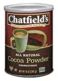 Chatfield's All Natural Cocoa Powder, Unsweetened, 10 Ounce