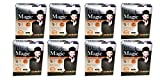 Pack of 8 - Black Magic 5 in 1 Powder Hair Color Dye With Natural Conditioner - 100% Gray Coverage - 80g
