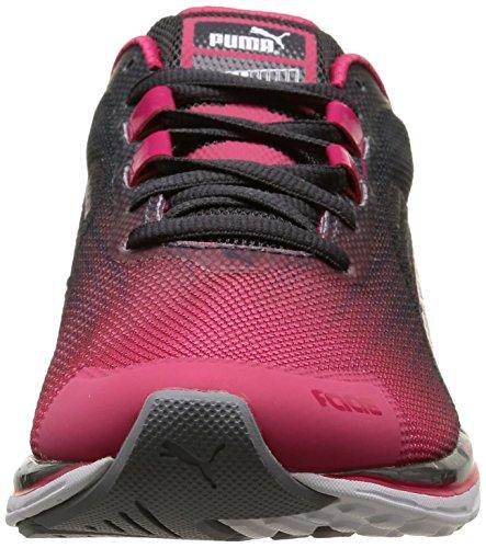 Wn Mujer Faas Puma Weave V4 Zapatillas running Rojo de 500 fqUBq4I