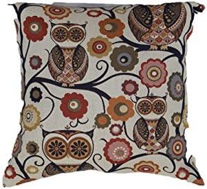Brentwood Originals Wise Owl Pillow Decorative Pillow, Sedona