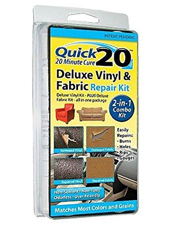Quick 20 Deluxe Vinyl, Leather & Fabric Repair Kit