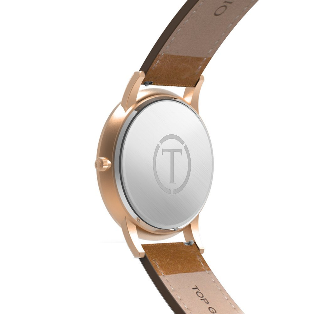 Amazon.com: Teleio - Swiss Greek God Collection (The Hades Rose Gold): Watches