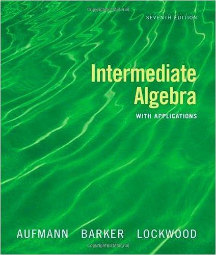 Intermediate algebra with applications richard n aufmann vernon c intermediate algebra with applications richard n aufmann vernon c barker joanne lockwood 9780618803682 amazon books fandeluxe Gallery