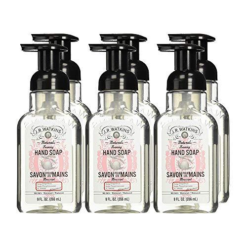 J.R. Watkins Hand Soap, Foaming, 9 fl oz, Grapefruit (6 pack) ()