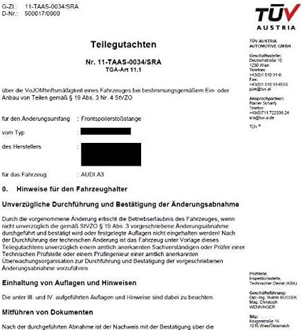 DM Autoteile Sport Sto/ßstange vorne K/ühlergrill Schwarz passt f/ür A3 8L ab 1996-2003