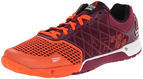 Reebok Women's Crossfit Nano 4.0 Training Shoe, Flux Orange/Rebel Berry/White/Black, 6 M US