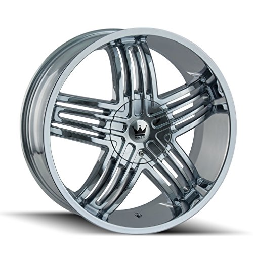 Mazzi ENTICE 368 Wheel with Chrome Finish (20 x 8.5 inches /5 x 110 mm, 35 mm Offset)