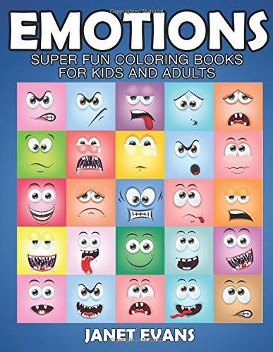 Read Online Emotions: Super Fun Coloring Books For Kids And Adults PDF