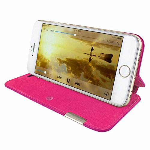 PIELFRAMA 686COP Case Crocodile Apple iPhone 6 Plus in fuchsia