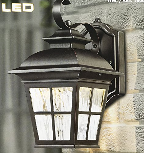 Led 3 Light Outdoor Post Lantern - 1