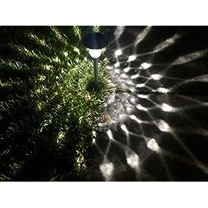 BefuTech Outdoor Solar Path Lights 6-Pack for Garden, Patio, Lawn, Pathways, Backyard, Yard | Outside Solar Lights at Driveway or Sidewalk