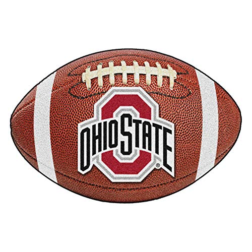 FANMATS NCAA Ohio State University Buckeyes Nylon Face Football -