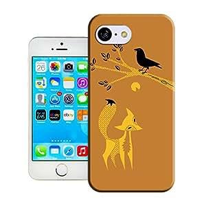 Charley Harper fox for iphone 5c case cover factoyonline