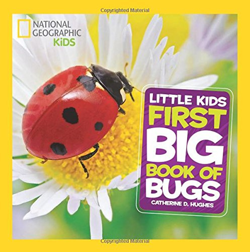 National Geographic Little Kids First Big Book of Bugs (National Geographic Little Kids First Big Books) cover