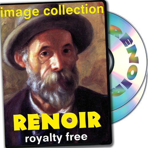 (Renoir, Over 200 High Resolution Digital Images, Royalty Free Collection DVD)