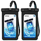 Mpow [upgraded] Waterproof Case with Armband, IPX8 Universal Cell Phone Dry Bag Waterproof