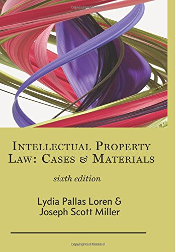 Download Intellectual Property Law: Cases & Materials pdf