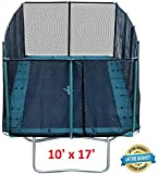 Best Trampoline USA - Galactic Xtreme Gymnastic Outdoor Trampoline with Net Enclosure - High Performance Commercial…