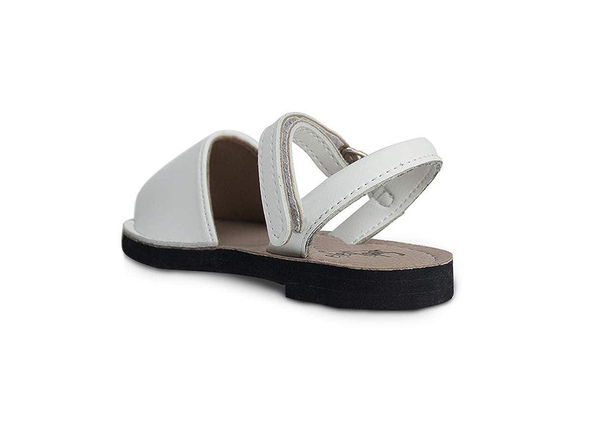 Toddlers Subibaja Martina Classic Menorquina//Avarca Sandals with Velcro Fastener for Baby Girls