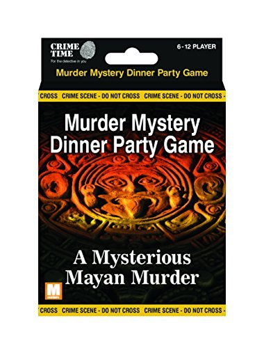 Downloadable Murder Mystery Games (A Mysterious Mayan Murder - Murder mystery gift box - downloadable game for 6,8,10 or 12 players)
