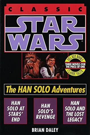 book cover of The Han Solo Adventures