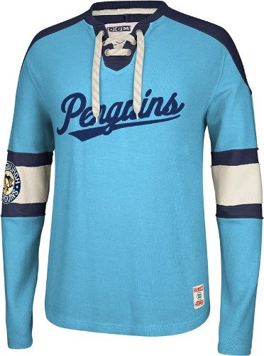 Amazon.com   Pittsburgh Penguins CCM Reebok NHL Knit Rib Crew Skate ... 4658b45af