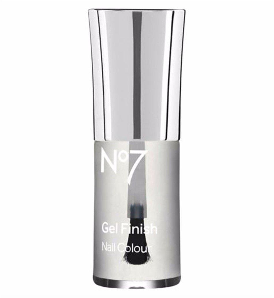 The Boots Company No7 Gel Finish Nail Colour Polish, Top Coat, .33 Fl Oz/