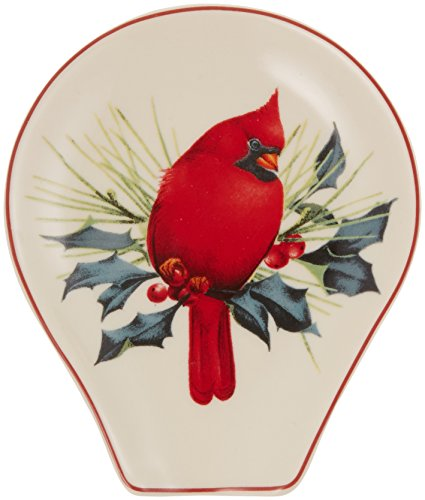Lenox Winter Greetings Spoon Rest (Holiday Rest Spoon)