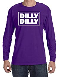 Dilly Dilly Square Design Men's Long Sleeve